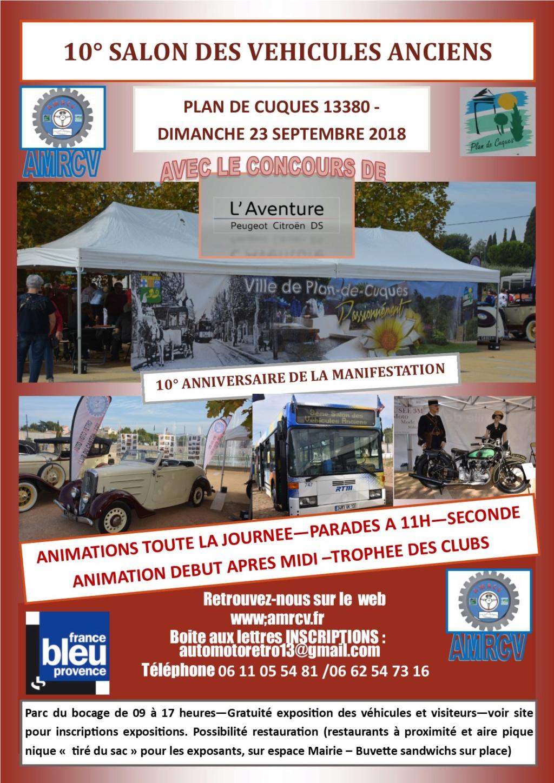 Plan de Cuques 2019 le 23 septembre dans les Bouches du Rhones Flyerp10