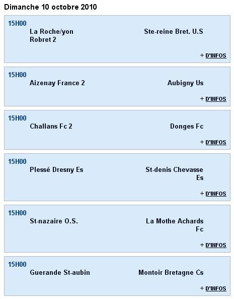 Senior A (PH) - St-denis Chevasse Es [0 - 1] Guérande St-aubin - 2e journée (26-09-10) Sag_se18