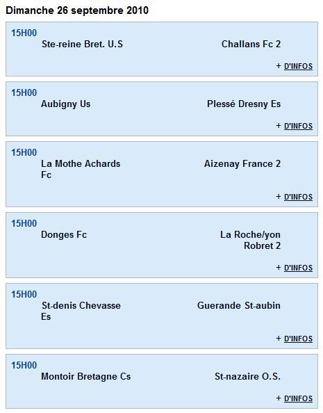 Senior A (PH) -      Guerande St-aubin [1 - 1] Donges Fc - 1ère journée (12-09-10) Senior11