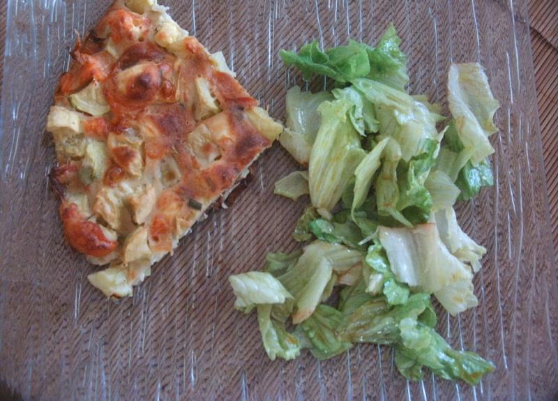 Quiche/galette saumon fumé et courgette Photo_12