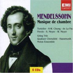 Mendelssohn: Musique de chambre (excluant les quatuors) Mendel10