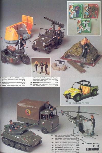 ACTION JOE/Groupe action Joe (Hasbro) Pub00010