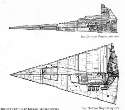 Destroyer Stellaire Classe Impériale 12042010