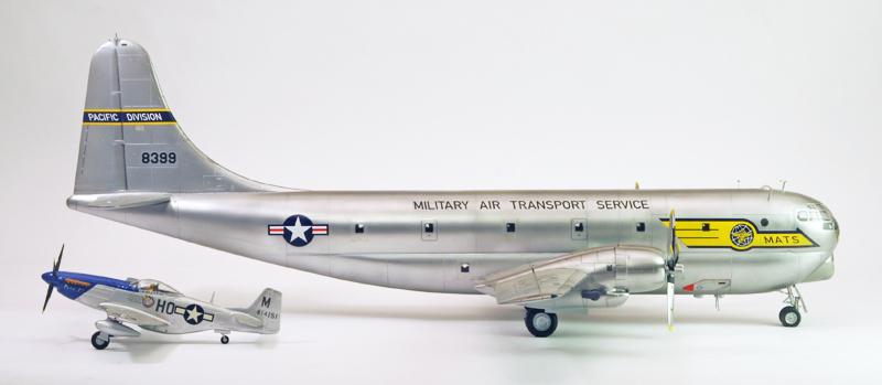 """Boeing C-97A """"Stratofreighter"""" [1:72 - Academy] Boeing12"""