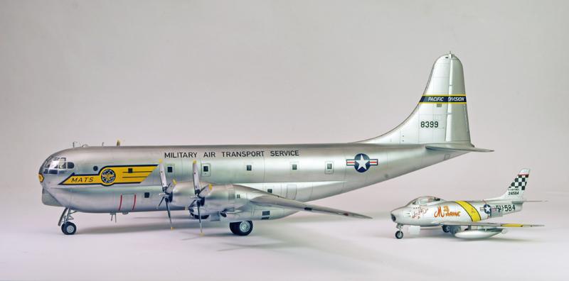 """Boeing C-97A """"Stratofreighter"""" [1:72 - Academy] Boeing13"""