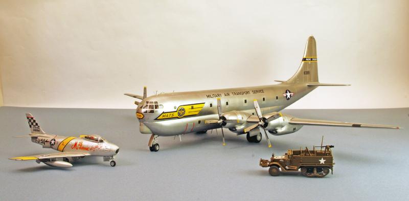 """Boeing C-97A """"Stratofreighter"""" [1:72 - Academy] Boeing20"""