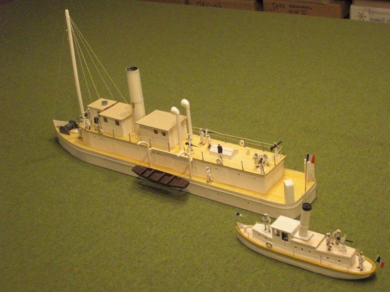 Chaloupe canonniere Takiang, annexe de la canonnière Olry Olry_e10