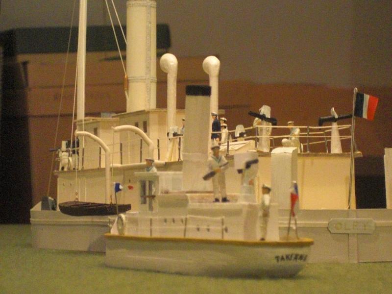 Chaloupe canonniere Takiang, annexe de la canonnière Olry Olry_e12