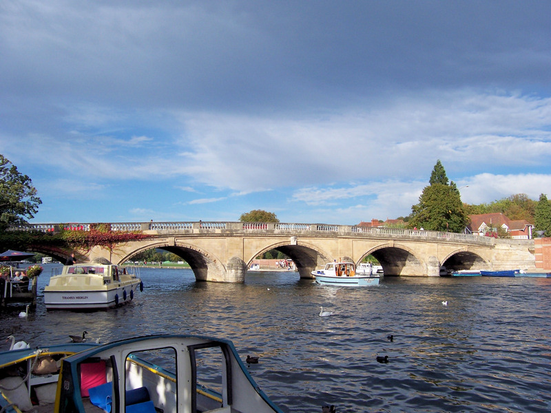 Clouds over the Thames at Henley Henley10