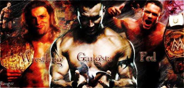 Wrestling Gangsta Fed