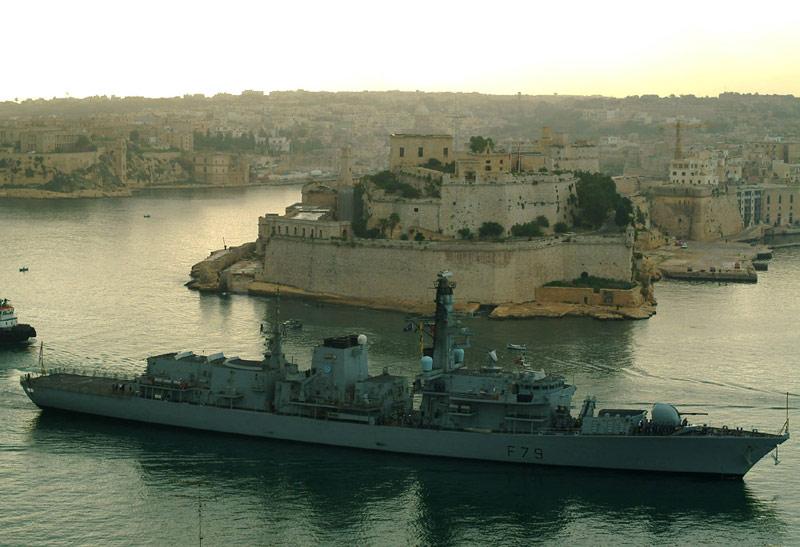 Type 23 Class frigate F7910