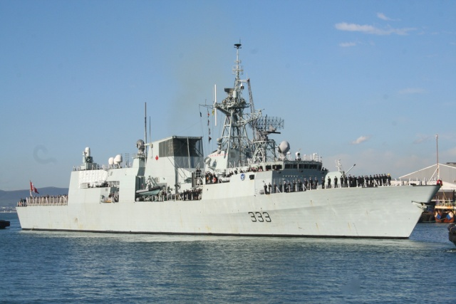 NATO Standing Naval Forces & NATO exercises Hmcs-t10