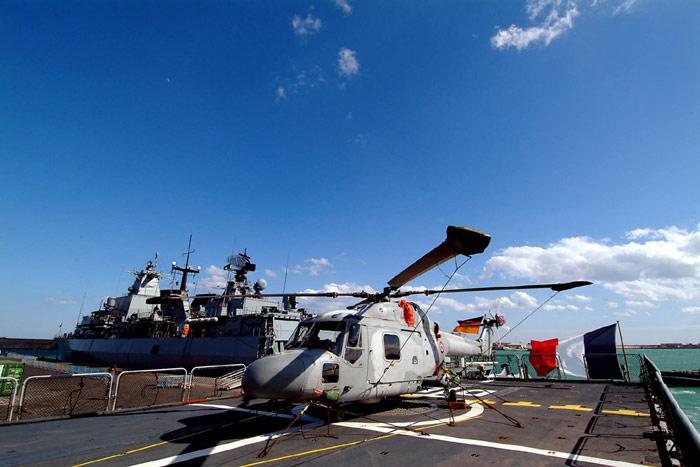 Les hélicos embarqués (Lynx, Dauphin, Panther, etc...) Lynx10