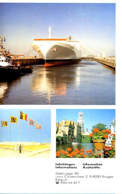 Ouverture du nouveau port de Zeebrugge en juillet 1985 Zebru_12