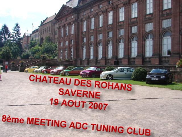 8ème MEETING DE TUNING A SAVERNE 19 août 2007 110