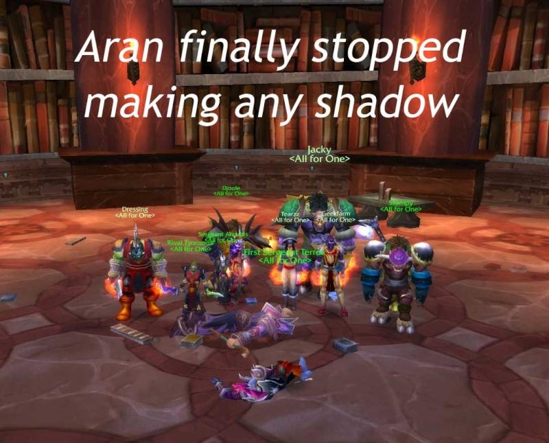 Aran down! Aran10