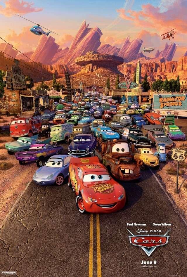 Cars - Quatre Roues [Pixar - 2006] Affich10