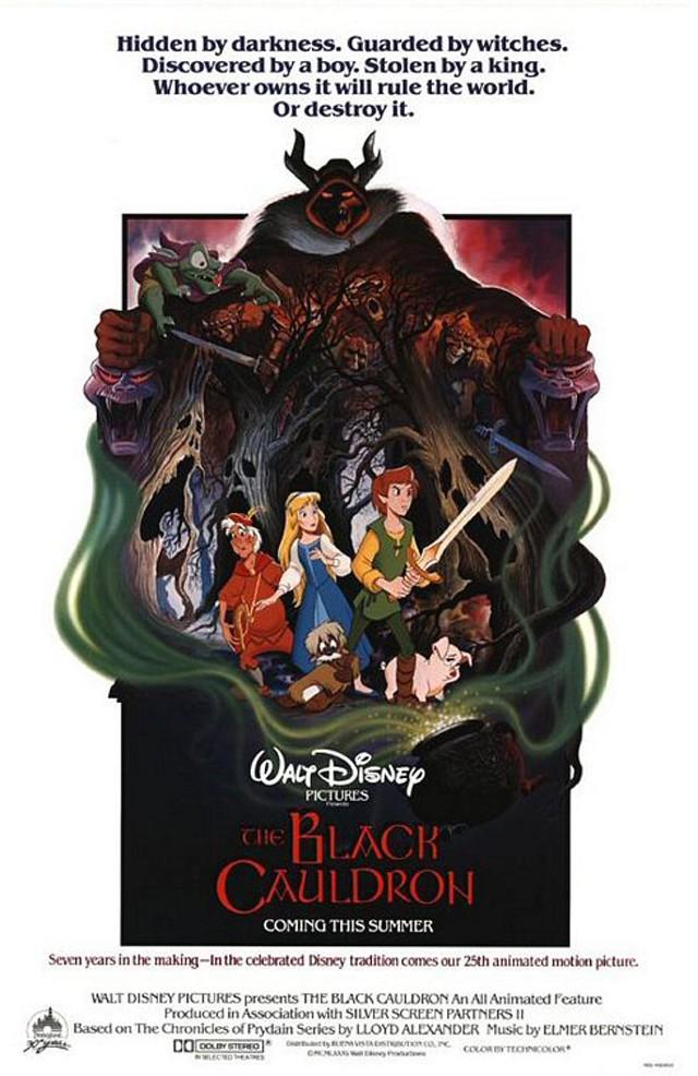 Taram et le Chaudron Magique [Walt Disney - 1985]  Black_11