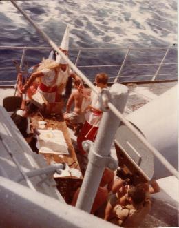 [ Les traditions dans la Marine ] LE PASSAGE DE LA LIGNE - ÉQUATEUR (Sujet unique) - Page 3 Ligne_11