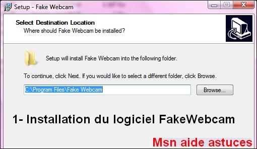 FakeWebcam = Une video a la place de votre cam Sans_t10