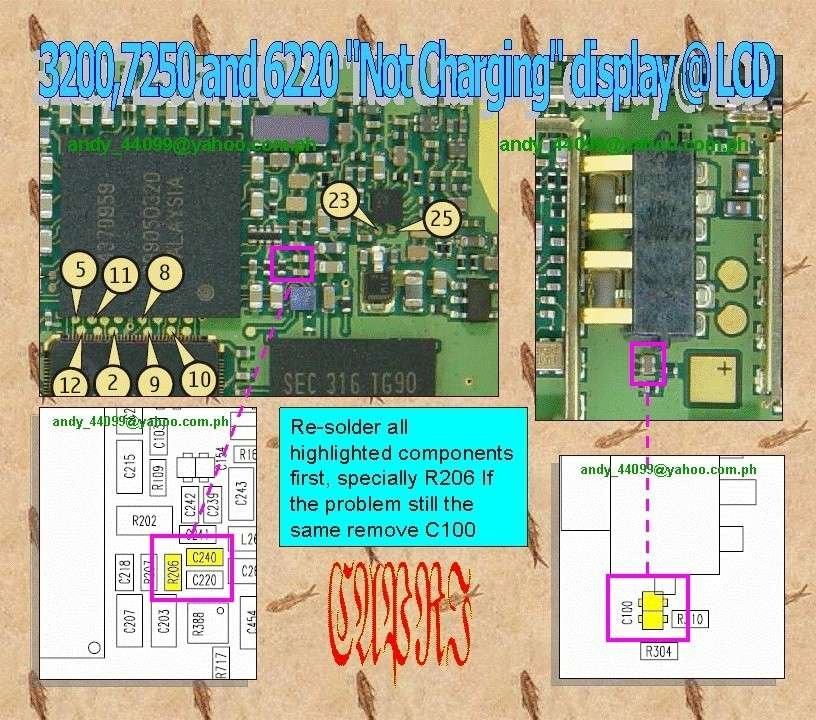 All Nokia Repairing Fults - Page 3 3200-710