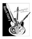 Projets affiche - festival de musique (Belfort 90) Rockha10
