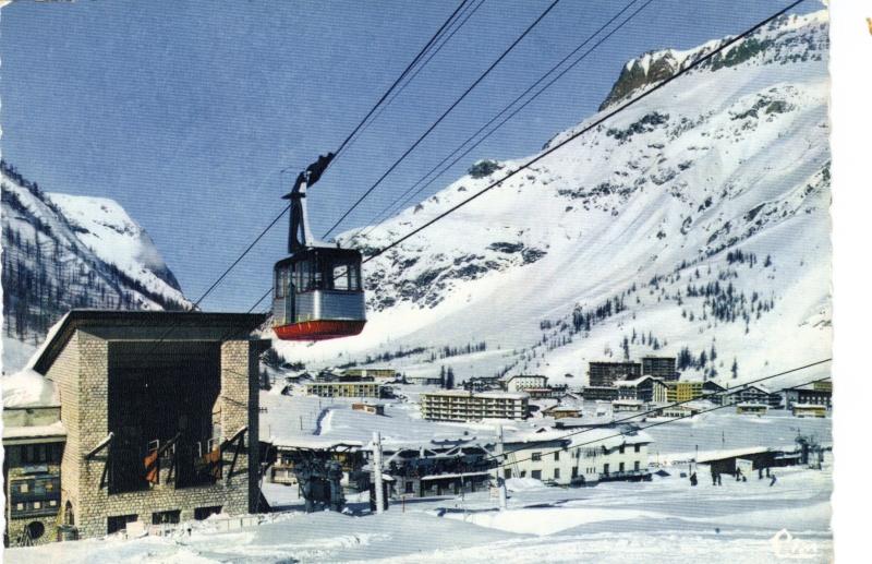 [Val d'Isère]Photos d'archives des remontées mécaniques - Page 2 Teleph10