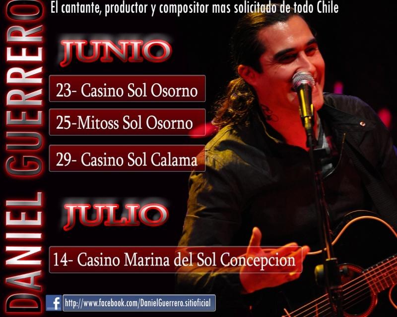 PROXIMOS SHOWS JUNIO Y JULIO 2011 Daniel11