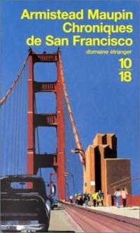 CHRONIQUES DE SAN FRANCISCO (Tome 1) d'Armistead Maupin 2844-m10