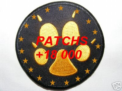 "Patch ""Collectionneur 100 patch +"" Pattes10"