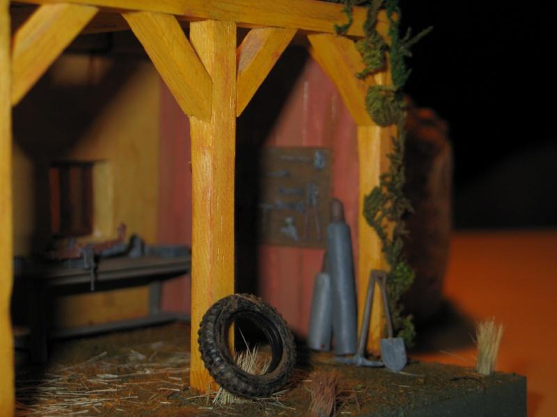 Réalisation  d'un Diorama Mercedes 3000 Img_5225