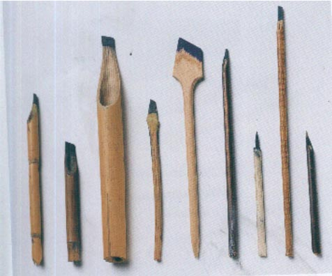 أدوات الخط العربي( الحبر , القلم , الورق ) Kalem10