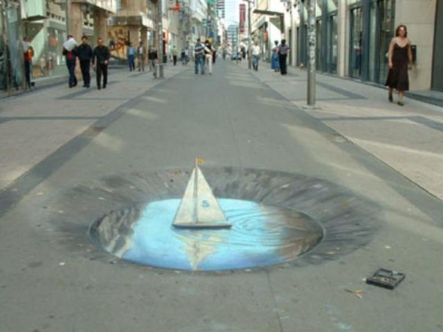 Dessins 3D sur le sol, Julian Beever Slide013