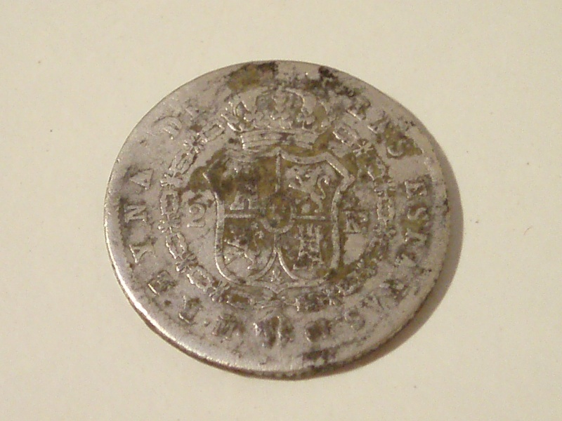 Dos reales de Isabel II (Madrid, 1959) P1010417