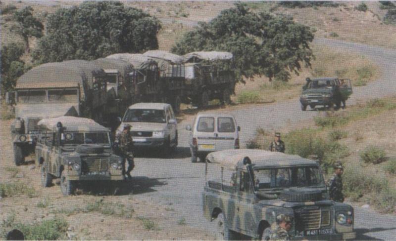 القوات البرية الجزائرية Convoi10