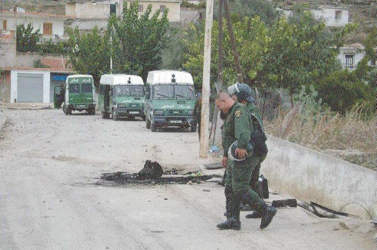 صور لدرك الوطني الجزائري Sans5410