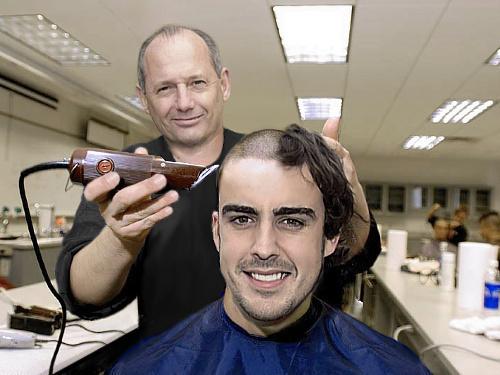 Fotos comicas de la Formula Uno Hairal10