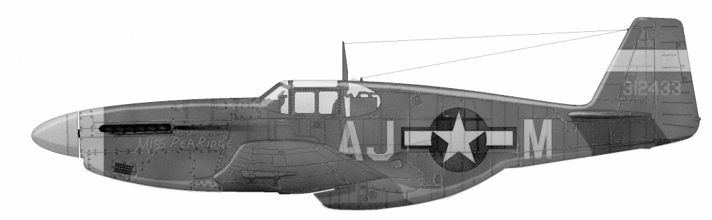 P-51 Mustang by F3V P-51b-11