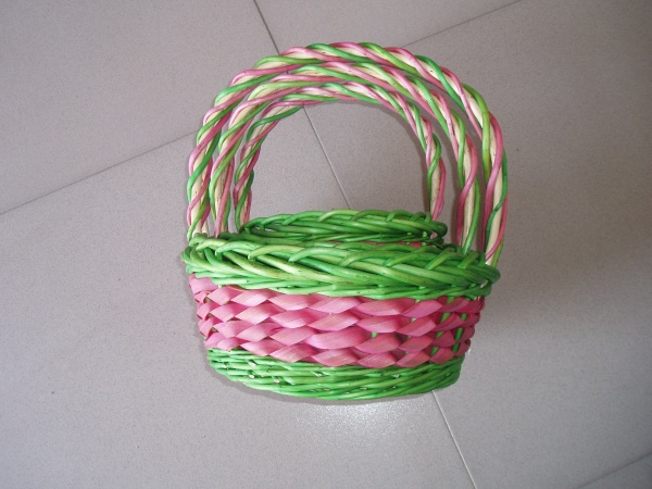 wood basket 0700410