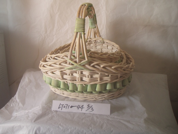 wood basket 0700510