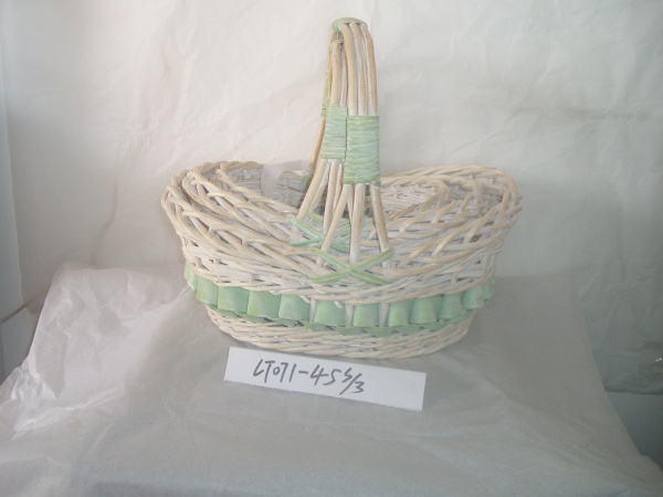 wood basket 0700610