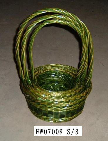 Flower Basket 01(FIVE PRODUCT) Fw070014