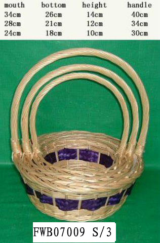 Flower Basket 01(FIVE PRODUCT) Fw070015