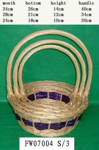 Flower Basket 01(FIVE PRODUCT) Fw070016