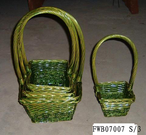 Flower Basket 01(FIVE PRODUCT) Fw070018