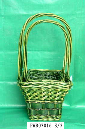 Flower Basket 02 (FIVE PRODUCT) Fw070112