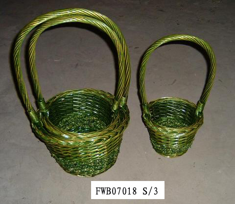 Flower Basket 02 (FIVE PRODUCT) Fw070113