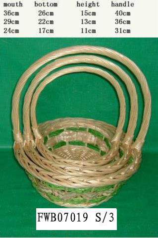 Flower Basket 02 (FIVE PRODUCT) Fw070116