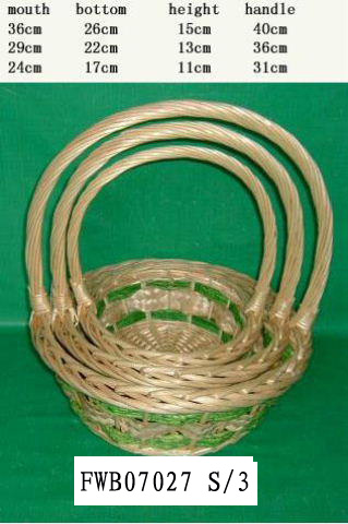 Flower Basket 03 (SIX PRODUCT) Fw070212