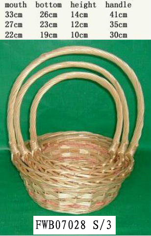 Flower Basket 03 (SIX PRODUCT) Fw070213